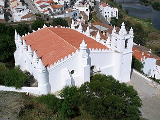 History of Portugal - Mértola's former mosque was transformed into a church in 1238.