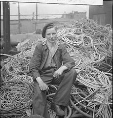 In a British Shipyard- Everyday Life in the Shipbuilding Industry, UK, 1943 DB153.jpg