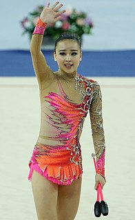 Son Yeon-jae South Korean rhythmic gymnast