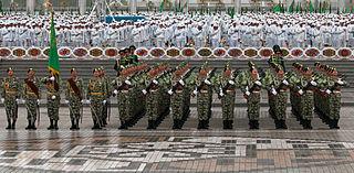 Turkmen Independence Day Parade event in Ashgabat, Turkmenistan