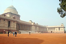 The residence of the president of India