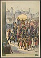 Indian parade with queen riding elephant LCCN2018647622.jpg