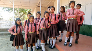 Indian school children at Hnahthial.jpg