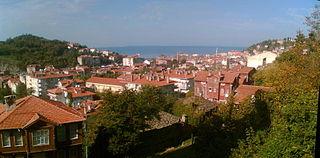 İnebolu District in Black Sea, Turkey