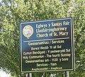 Information Board at Eglwys y Santes Fair, Llanfairynghornwy - geograph.org.uk - 1259783.jpg