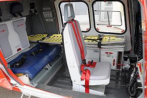 Rega (air rescue) - Rega Agusta A109SP Cabin.