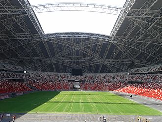 Rugby union in Singapore - National Stadium, Singapore (capacity 55,000)