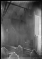 Interior view of the Paihia native church, Northland region, showing the pipe organ. ATLIB 286556.png