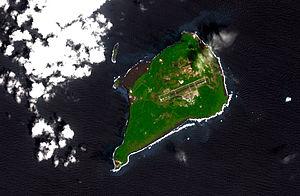 NASA image of Iwojima