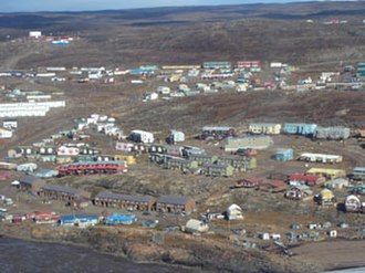 Northern Canada - Iqaluit, Nunavut is the capital, the only city and largest population centre in Nunavut.