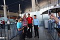 Iran national football team at Airport 01.jpg