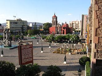 Irapuato - Plaza de Los Fundadores