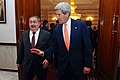 Iraqi Foreign Minister Escorts Secretary Kerry to Meeting With Prime Minister al-Maliki (14302567390).jpg