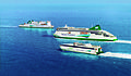 Irish Ferries - (L-R) 'Isle of Inishmore', 'Ulysses', 'Jonathan Swift'.jpg