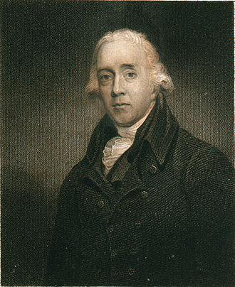 Nicholas Pocock - Engraving of Pocock by Edward Scriven