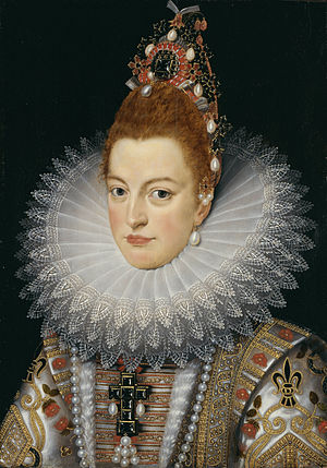 Isabella Clara Eugenia - Portrait by Frans Pourbus the Younger