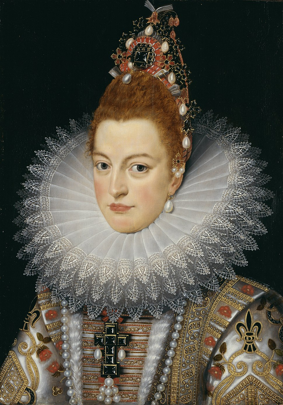 Isabella Clara Eugenia of Spain - Frans Pourbus II