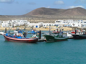 Teguise (municipality) - Image: Isla de la Graciosa