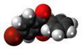Isobromindione 3D spacefill.png