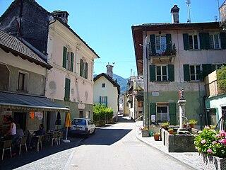 Former municipality of Switzerland in Ticino