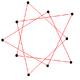 Isotoxal pentagram