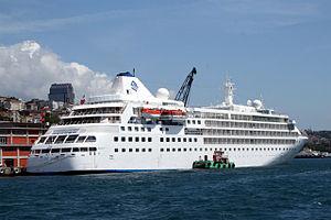 Le Silver Wind à quai à Istamboul