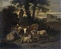 Italiaans landschap met herderin en vee Rijksmuseum SK-A-83.jpeg