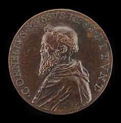 Cornelio Musso, 1511-1574, Franciscan Monk and Bishop of Bitonto 1547 [obverse]