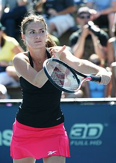 Iveta Benešová at the 2010 US Open 02.jpg