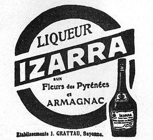 Izarra (liqueur) - Image: Izarra 1924