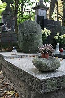 Józef Gołąb grób 02.JPG