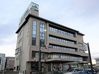 西三河農業協同組合の本店、西尾支店