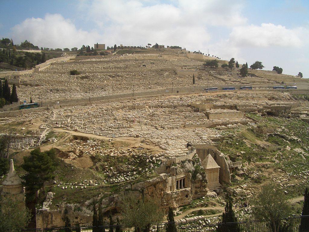 Cementerio judío del Monte de los Olivos. Jerusalén