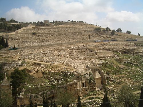 JERUSALEM Mount of Olives Cemetery.JPG
