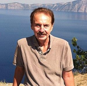 Jon Palfreman - Palfreman at Crater Lake