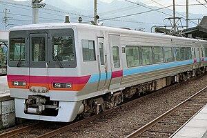 JR Shikoku 8000 series - Image: JR shikoku 8000series 8201 niihama