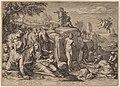 Jacob Matham after Hendrik Goltzius, Perseus and Andromeda, 1597, NGA 133872.jpg