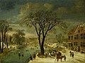 Jacques Fouquier (1590-1591-1659) - Winter Scene - M.32 - Fitzwilliam Museum.jpg