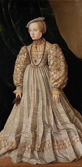Archduchess Anna of Austria - Image: Jakob Seisenegger 002