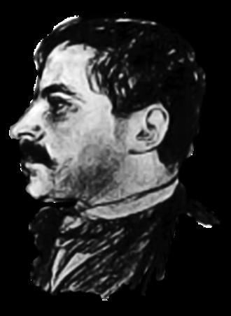 Jakob Wassermann - Jakob Wassermann in 1899 drawing by Emil Orlik