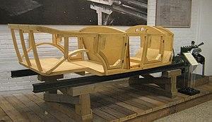 Weymann Fabric Bodies - conventional non-Weymann coachwork frame (Volvo ÖV 4)