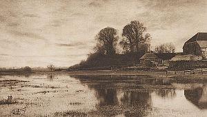 James Booker Blakemore Wellington - Eventide (1890) a photogravure