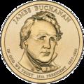 James Buchanan $1 Presidential Coin obverse sketch.png