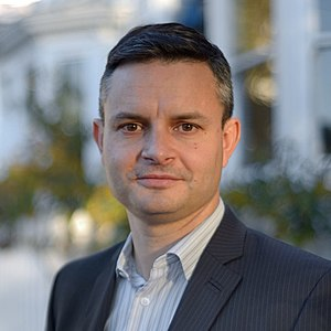 James Shaw (New Zealand politician) - Image: James Shaw, 2014