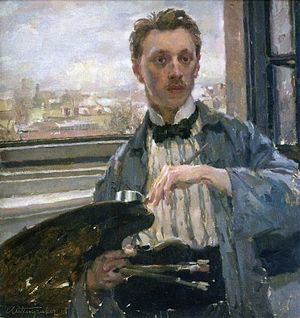 Jan Autengruber - Self-portrait (1913)