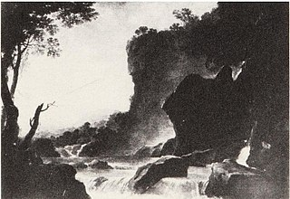 Landscape with a Cascade