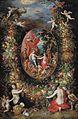 Jan Brueghel - Krans van vruchten en bloemen rond een allegorie op de landbouwFXD.jpg