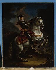 Elector Johann Wilhelm von Pfalz-Neuburg on Horseback