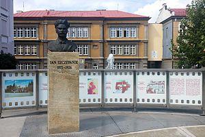 Jan Szczepanik - Jan Szczepanik memorial in Tarnów, Poland