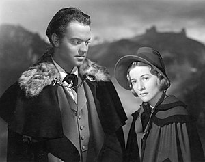 Jane Eyre (1943 film) - Orson Welles and Joan Fontaine